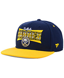 Authentic NHL Headwear Buffalo Sabres Combo Emblem Snapback Cap