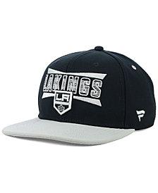 Authentic NHL Headwear Los Angeles Kings Combo Emblem Snapback Cap