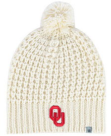 Top of the World Women's Oklahoma Sooners Slouch Pom Knit Hat