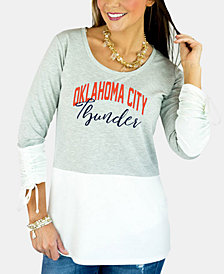 new style 448c6 d2bdf Gameday Couture Women s Oklahoma City Thunder Embellished Tunic Top