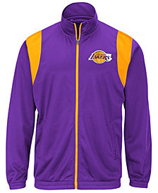 G-III Sports Men's Los Angeles Lakers Clutch Time Track Jacket