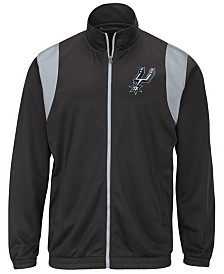 G-III Sports Men's San Antonio Spurs Clutch Time Track Jacket