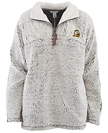 Women's Oregon Ducks Sherpa Quarter-Zip Pullover