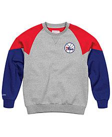 Mitchell & Ness Men's Philadelphia 76ers Trading Block Crew Sweatshirt