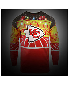 Forever Collectibles Men's Kansas City Chiefs Bluetooth Sweater