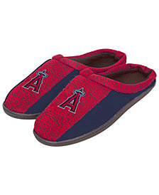 Forever Collectibles Los Angeles Angels Knit Cup Sole Slippers