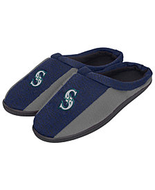Forever Collectibles Seattle Mariners Knit Cup Sole Slippers