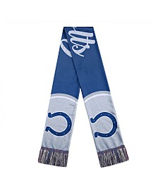 Forever Collectibles Women's Indianapolis Colts Glitter Script Wordmark Scarf
