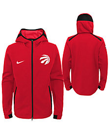 Nike Toronto Raptors Showtime Hooded Jacket, Big Boys (8-20)