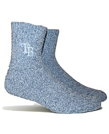 PKWY Tampa Bay Rays Parkway Team Fuzzy Socks