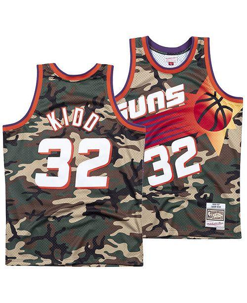 Mitchell & Ness Men's Jersey Jason Kidd Phoenix Suns Woodland Camo Swingman
