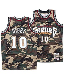 Mitchell & Ness Men's Mike Bibby Vancouver Grizzlies Woodland Camo Swingman Jersey