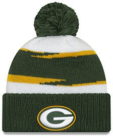 New Era Green Bay Packers Thanksgiving Pom Knit Hat