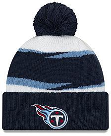 New Era Tennessee Titans Thanksgiving Pom Knit Hat