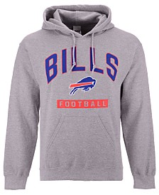 Authentic NFL Apparel Men's Buffalo Bills Gym Class Hoodie