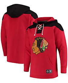 Majestic Men's Chicago Blackhawks Breakaway Lace Up Hoodie
