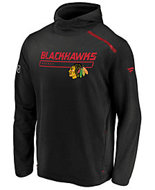 Majestic Men's Chicago Blackhawks Rinkside Transitional Hoodie