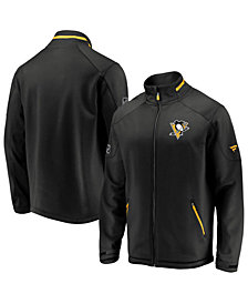 Majestic Men's Pittsburgh Penguins Rinkside Authentic Pro Jacket