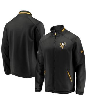 Men's Pittsburgh Penguins Rinkside Authentic Pro Jacket