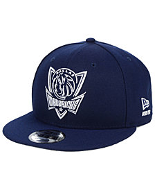 New Era Dallas Mavericks Logo Trace 9FIFTY Snapback Cap