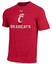 Under Armour Men's Cincinnati Bearcats Heat Gear Tri-Blend T-Shirt