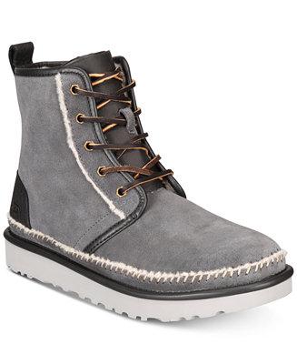 46332118a0a UGG® Men's Harkley Stitch Boots & Reviews - All Men's Shoes - Men ...