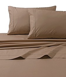 300 Thread Count Cotton Percale Extra Deep Pocket King Sheet Set