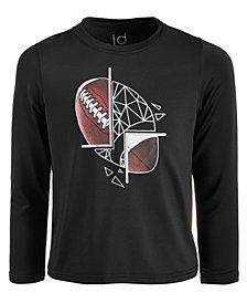 Ideology Little Boys Football-Print T-Shirt, Created for Macy's