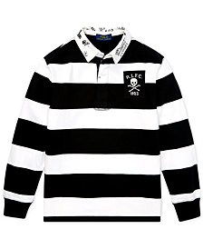 Polo Ralph Lauren Big Boys Striped Rugby Shirt