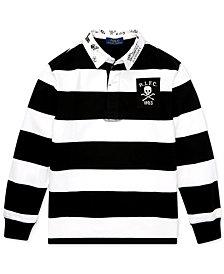 Polo Ralph Lauren Big Boys Striped Rugby Shirt
