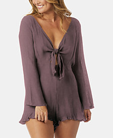 Raisins Samba Solids Newport Romper Cover-Up