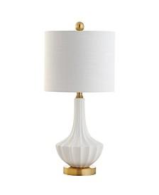 Jonathan Y Parker Ceramic Mini Led Table Lamp