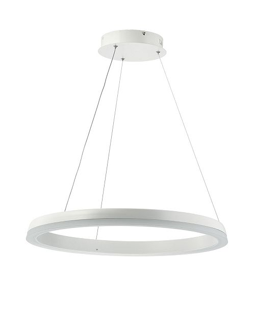 JONATHAN Y Baxter Integrated Led Metal Hoop Pendant
