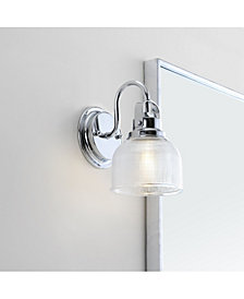 Virginia 1-Light Metal, Glass Led Vanity Light