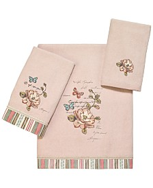 Avanti Butterfly Garden II Bath Towel Collection