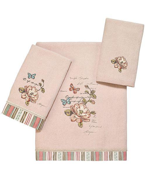 Avanti Butterfly Garden II Bath Towel Collection