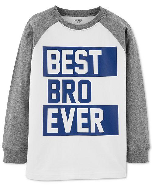Carter's Little & Big Boys Graphic-Print Raglan T-Shirt