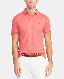 Polo Ralph Lauren Men's Custom Slim Fit Soft Touch Cotton Polo, Created for Macy's