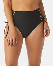 Raisins Samba Solids Twilight High-Waist Bottoms