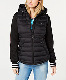 Tommy Hilfiger Hooded Puffer Jacket, Created for Macy's