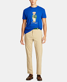 Polo Ralph Lauren Men's Big & Tall Classic Fit Polo Bear Cotton T-Shirt
