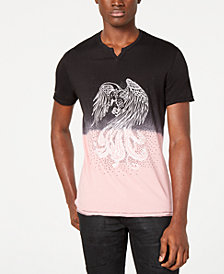 I.N.C. Men's Rhinestone Phoenix Graphic T-Shirt, Created for Macy's