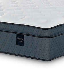 "MacyBed Lux Coventry 15.5"" Cushion Firm Euro Top Hybrid Mattress- Full, Created for Macy's"