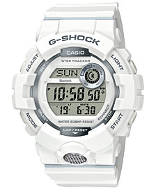 G-Shock Women's Digital White Resin Strap Watch 46.6mm