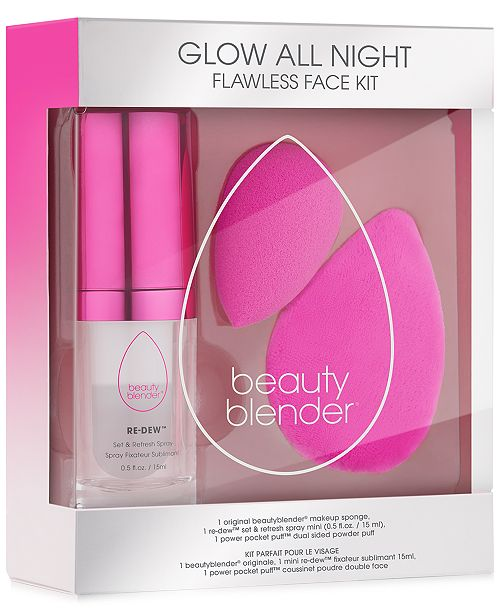 beautyblender 3-Pc. Glow All Night Set