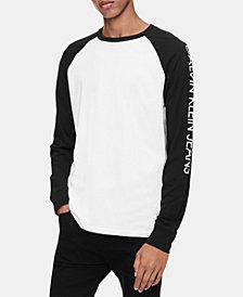 Calvin Klein Jeans Men's Long-Sleeve Logo T-Shirt