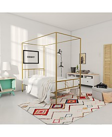 Novogratz Marion Canopy Twin Bed