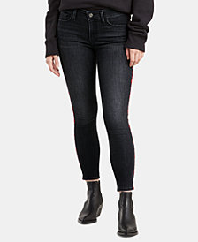 Levi's® 711 Embroidered Skinny Ankle Jeans