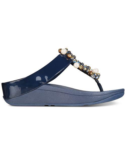 60b456afa249 FitFlop Deco Flip-Flop Sandals   Reviews - Sandals   Flip Flops ...