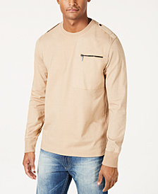 Sean John Men's Knit Flight Shirt